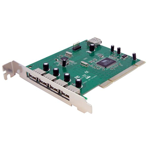 StarTech.com 7 Port USB 2.0 PCI Schnittstellenkarte