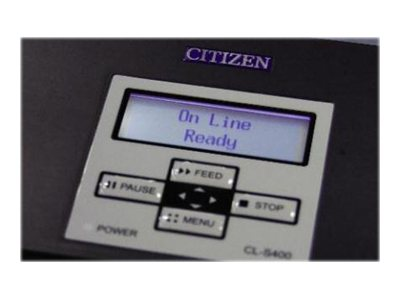 Citizen CL-S400DT - Etikettendrucker - Thermopapier - Rolle (11,8 cm)