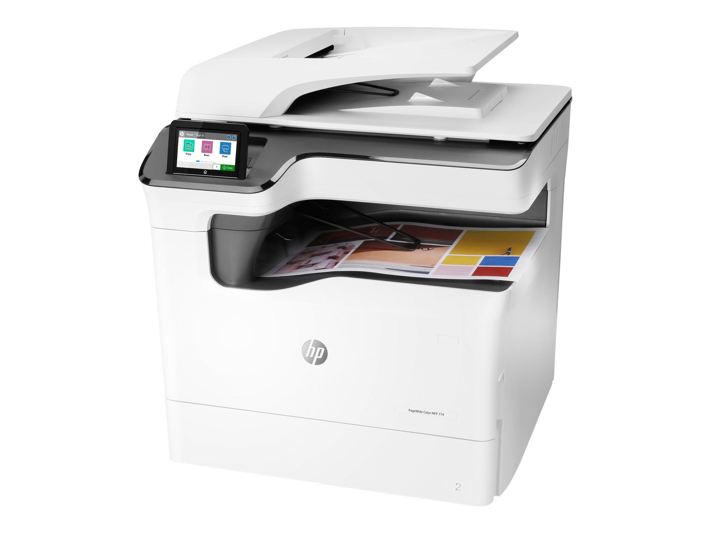 HP PageWide Color MFP 774dn - Multifunktionsdrucker - Farbe - seitenbreite Palette - 297 x 864 mm (Original)