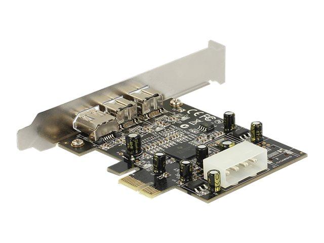 Delock PCI Express card FireWire A / B - Videoaufnahmeadapter