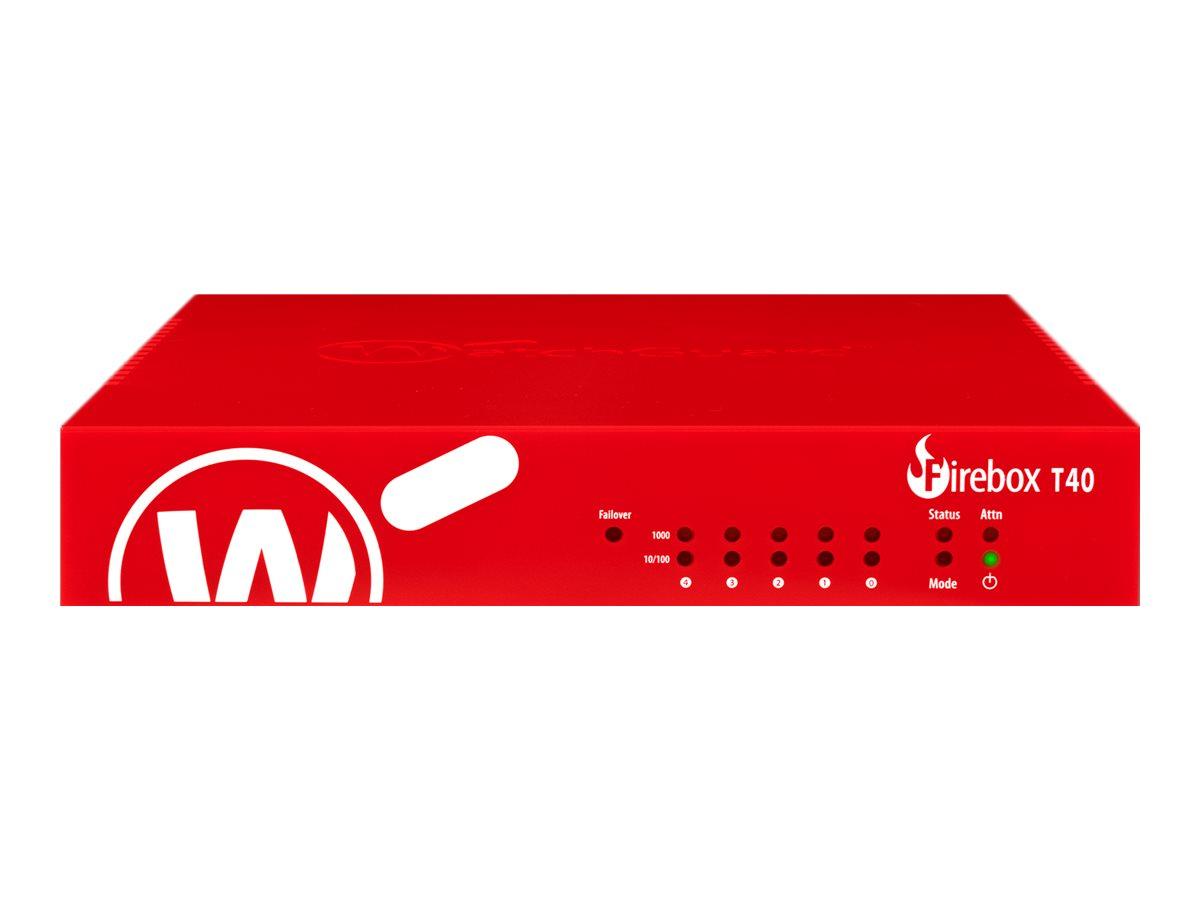 Vorschau: WatchGuard Firebox T40 - Sicherheitsgerät - mit 3 Jahre Basic Security Suite