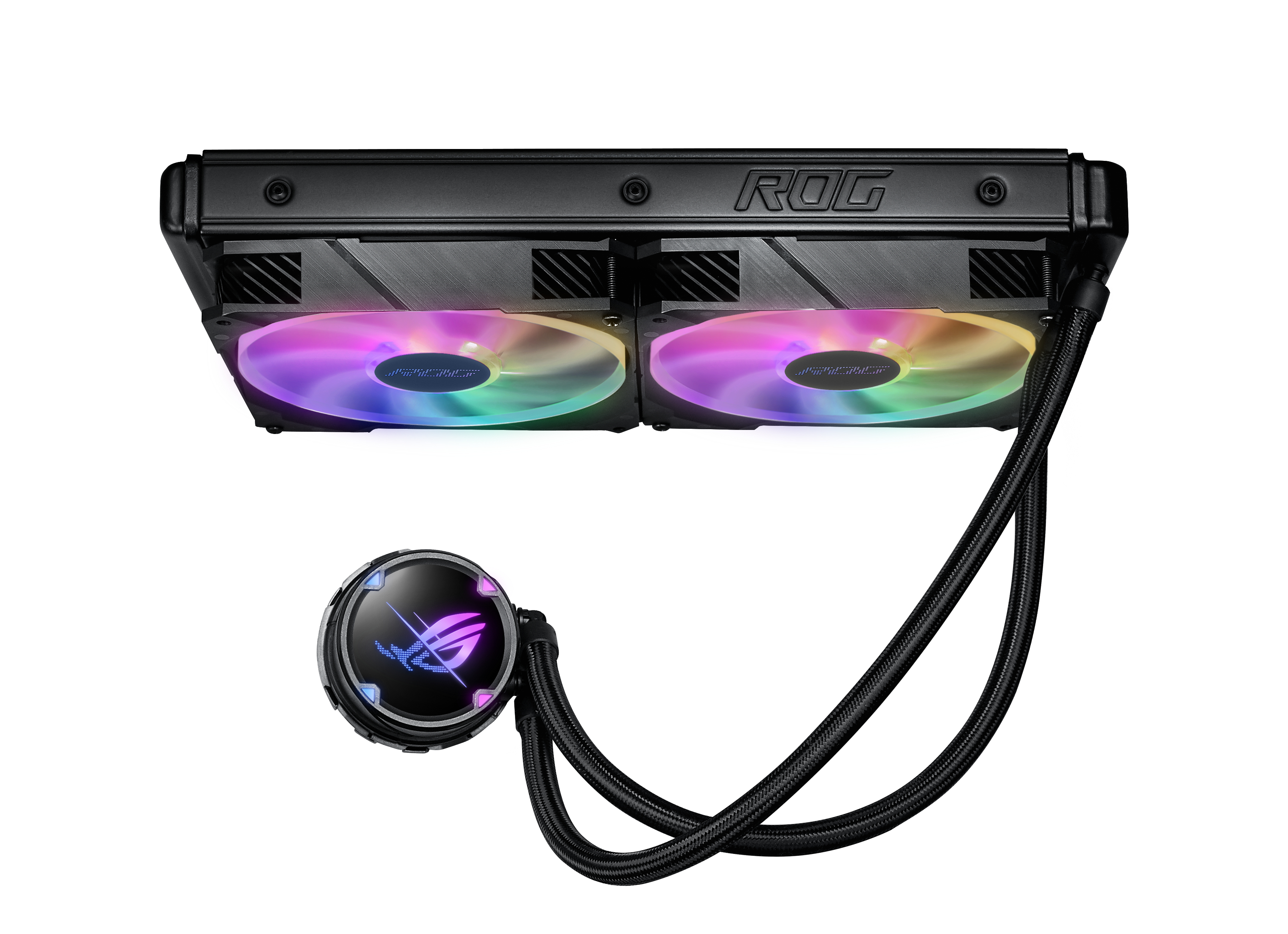 ASUS ROG STRIX LC II 280 ARGB - Prozessor-Flüssigkeitskühlsystem - (für: LGA1156, LGA1366, LGA1155, LGA2011, LGA1150, LGA2011-3, LGA1151, AM4, LGA2066, TR4, LGA1200)