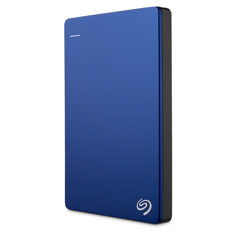 Seagate Backup Plus Slim 1TB 1000GB Blau Externe Festplatte