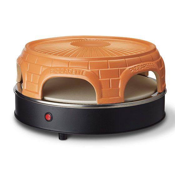 Emerio PO-116100 - 6 Pizza/Pizzen - Schwarz - Orange - 1500 W - 7,2 kg - 44 mm - 440 mm