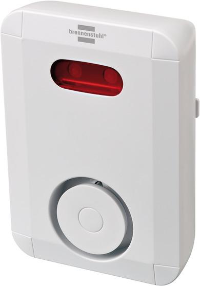 Brennenstuhl 1294200 - Wireless siren - 868.3 MHz - 100 dB - IP44 - Weiß - Alkali