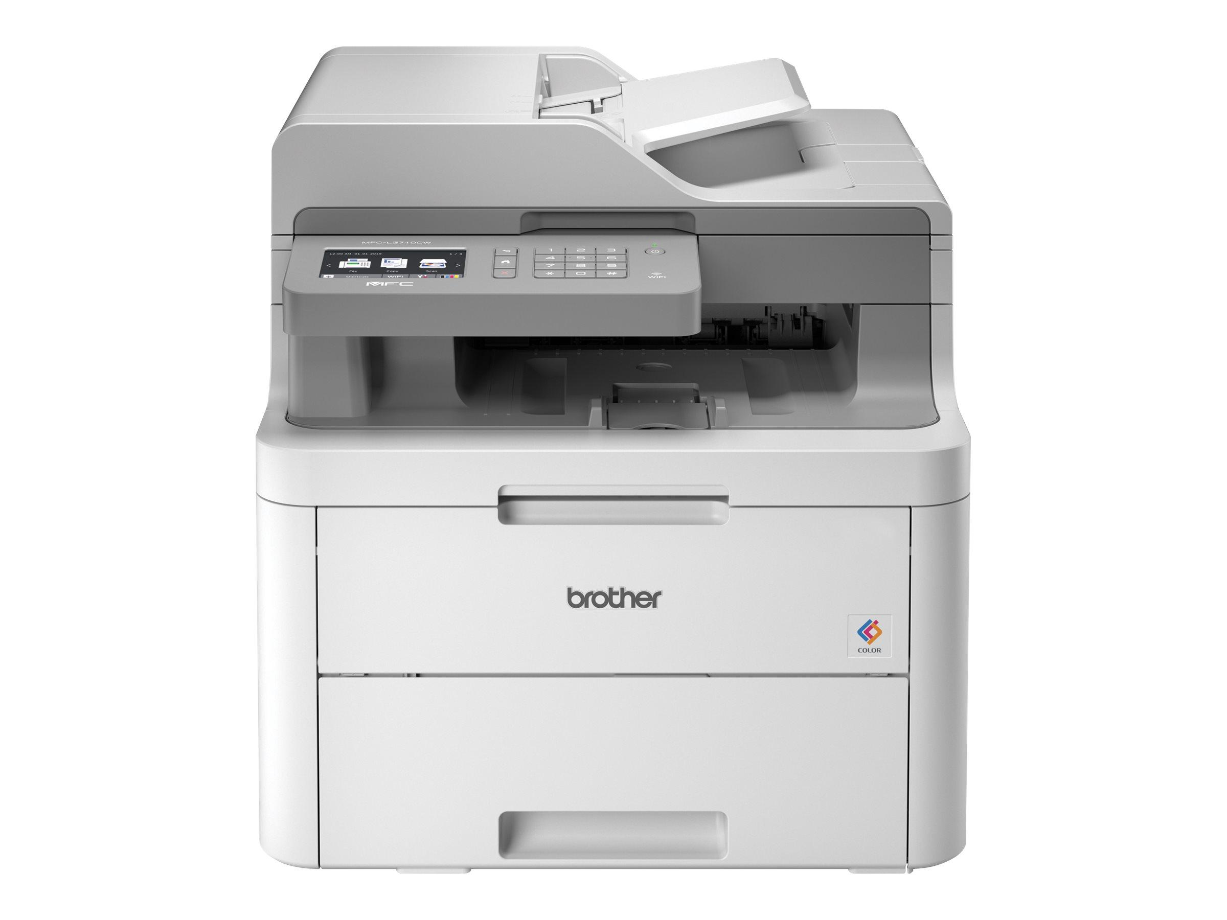 Brother MFC-L3710CW - Multifunktionsdrucker - Farbe - LED - Legal (216 x 356 mm)