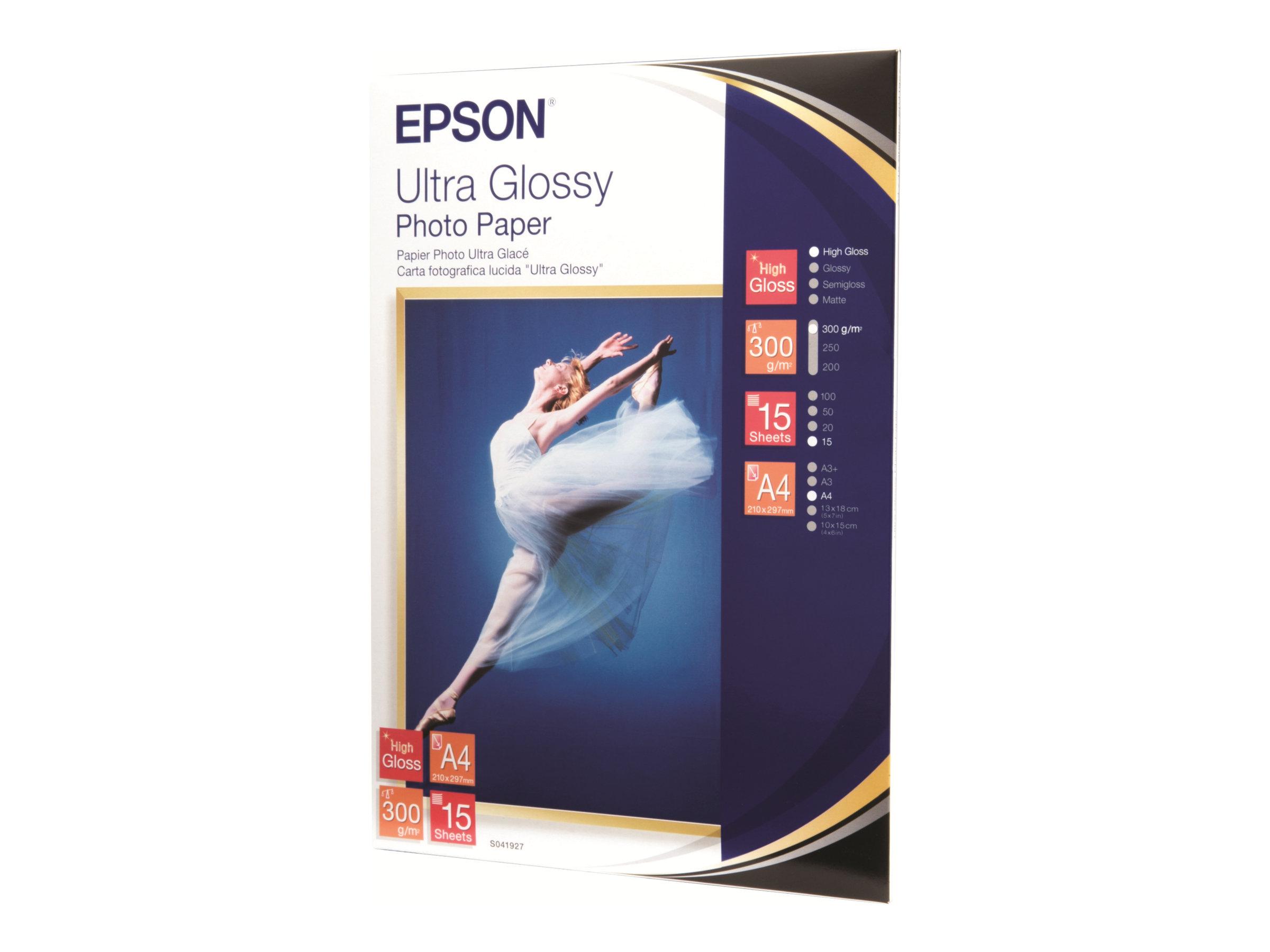 Epson Ultra Glossy Photo Paper - Glänzend - A4 (210 x 297 mm)