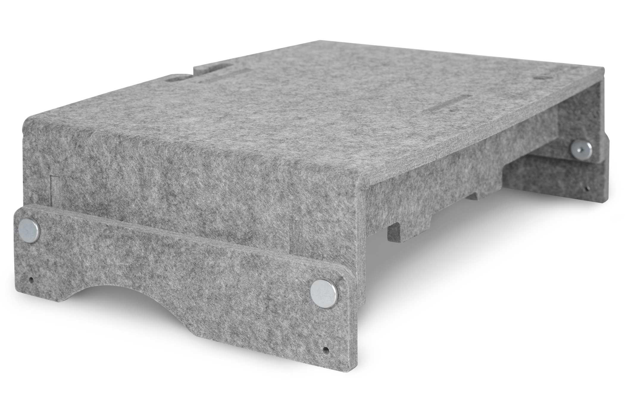 Vorschau: Bakker Q-riser 110 Circular - 43,2 cm (17 Zoll) - Grau