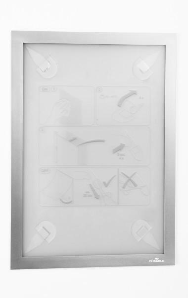 Durable DURAFRAME Wallpaper A4 - Schilderhalter - A4 - Silber - Horizontal/Vertical - 323 mm - 236 mm