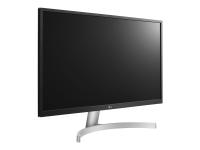 27UL500-W - 68,6 cm (27 Zoll) - 3840 x 2160 Pixel - 4K Ultra HD - LED - 5 ms - Silber