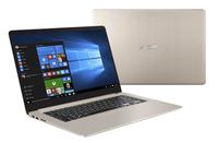VivoBook S15 S510UQ-BQ600T 1.80GHz i7-8550U Intel® Core i7 der achten Generation 15.6Zoll 1920 x 1080Pixel Gold Notebook