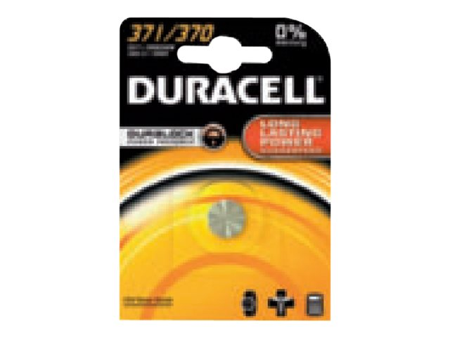 Duracell Watch 371/370 - Batterie SR69 - Silberoxid