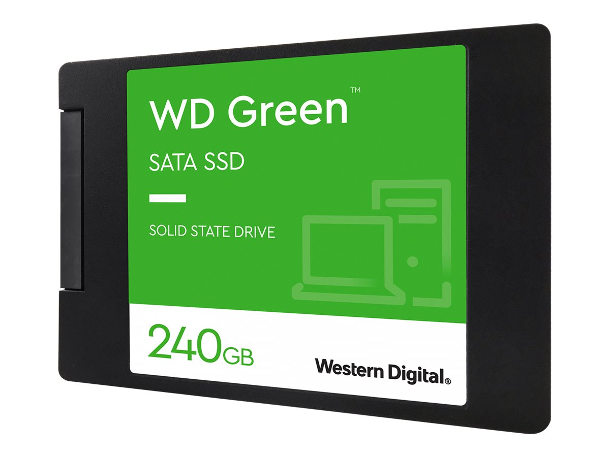 """WD Green SSD WDS240G2G0A - Solid-State-Disk - 240 GB - intern - 2.5"""" (6.4 cm)"""