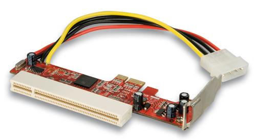 Lindy PCIe Adapter für eine Low Profile PCI Karte - Zubehör PC