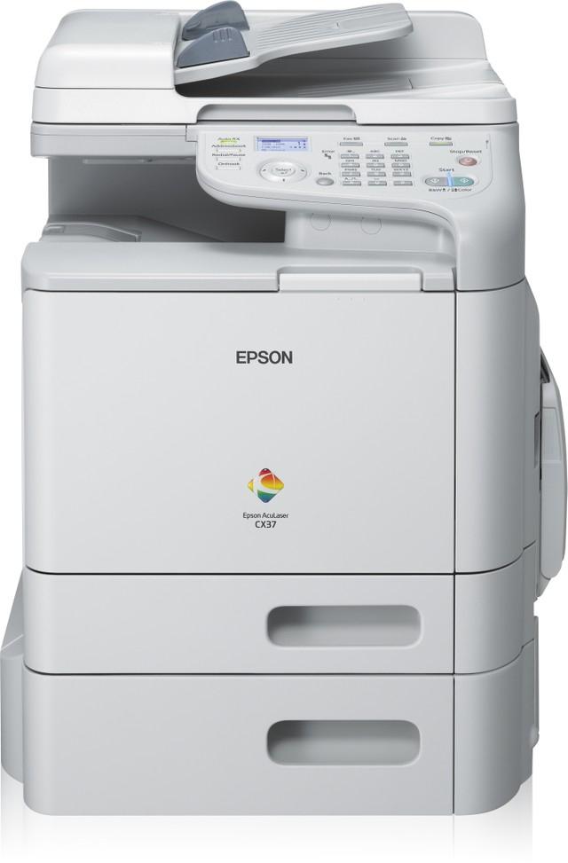 Epson AcuLaser CX37DTNFCX Laser/LED-Druck Kopierer - Farbig - 0,4 ppm - USB, USB 2.0