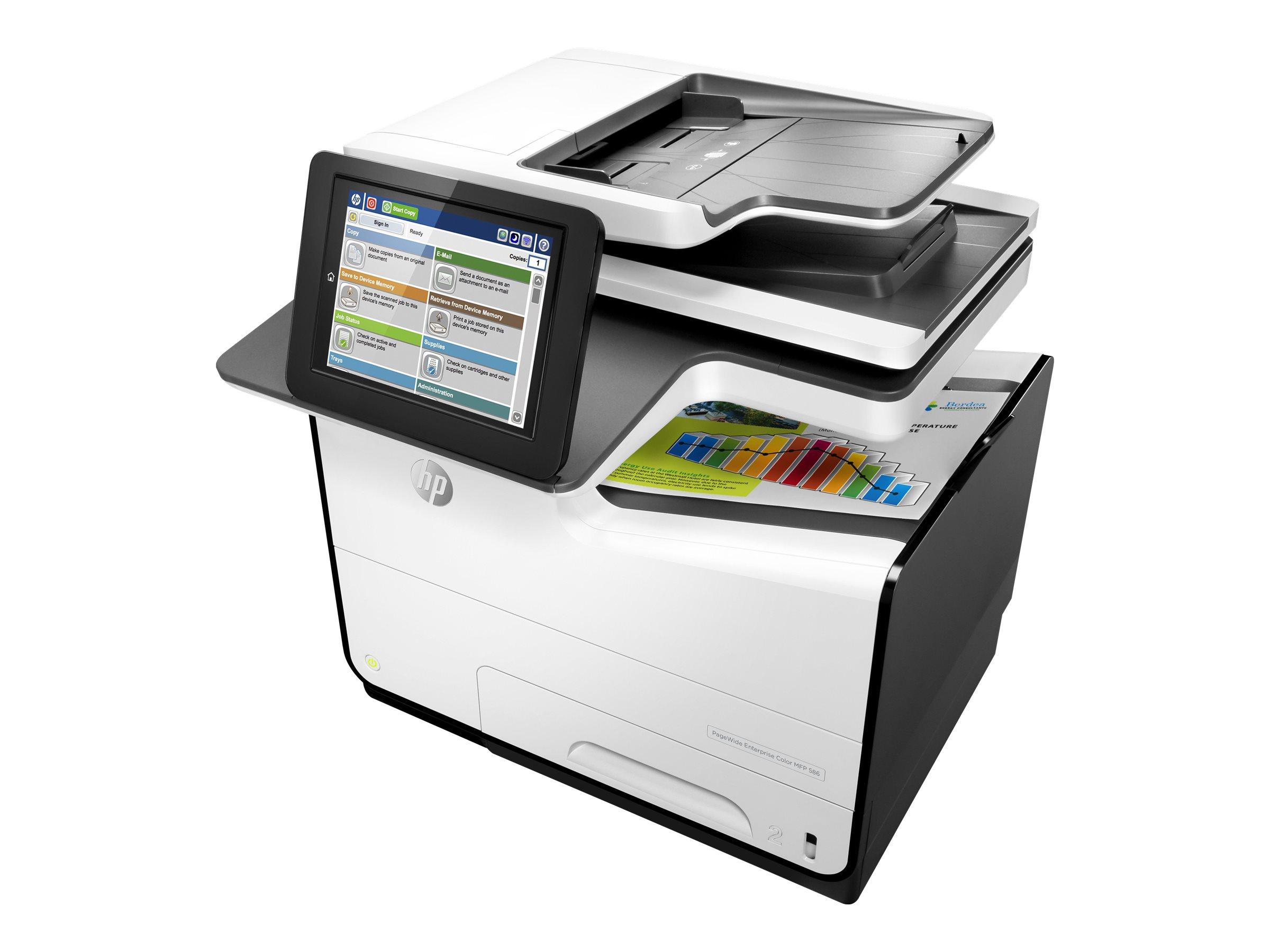 HP PageWide Enterprise Color 586dn, Tinte, MFP, A4