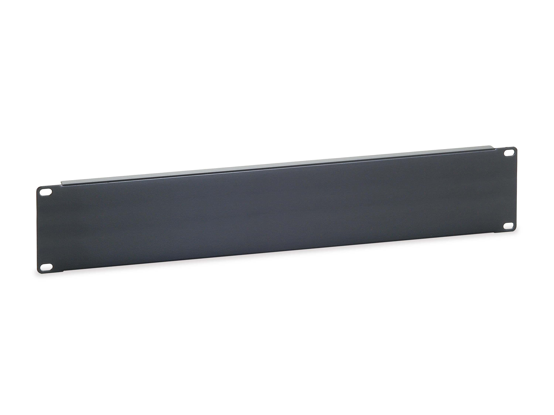 equip 327512 - Blindplatte - Schwarz - 2U - CE - 48,3 cm (19 Zoll) - 482,6 mm