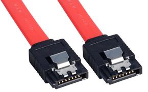 Lindy Internes SATA - Kabel mit Latch-Steckern - Kabel