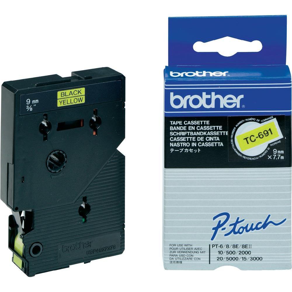 Brother Schriftband 9 mm Etiketten / Beschriftungsbänder