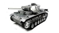 Amewi 23079 - Funkgesteuerter (RC) Panzer - Elektromotor - 1:16 - Betriebsbereit (RTR) - Grau - Metall