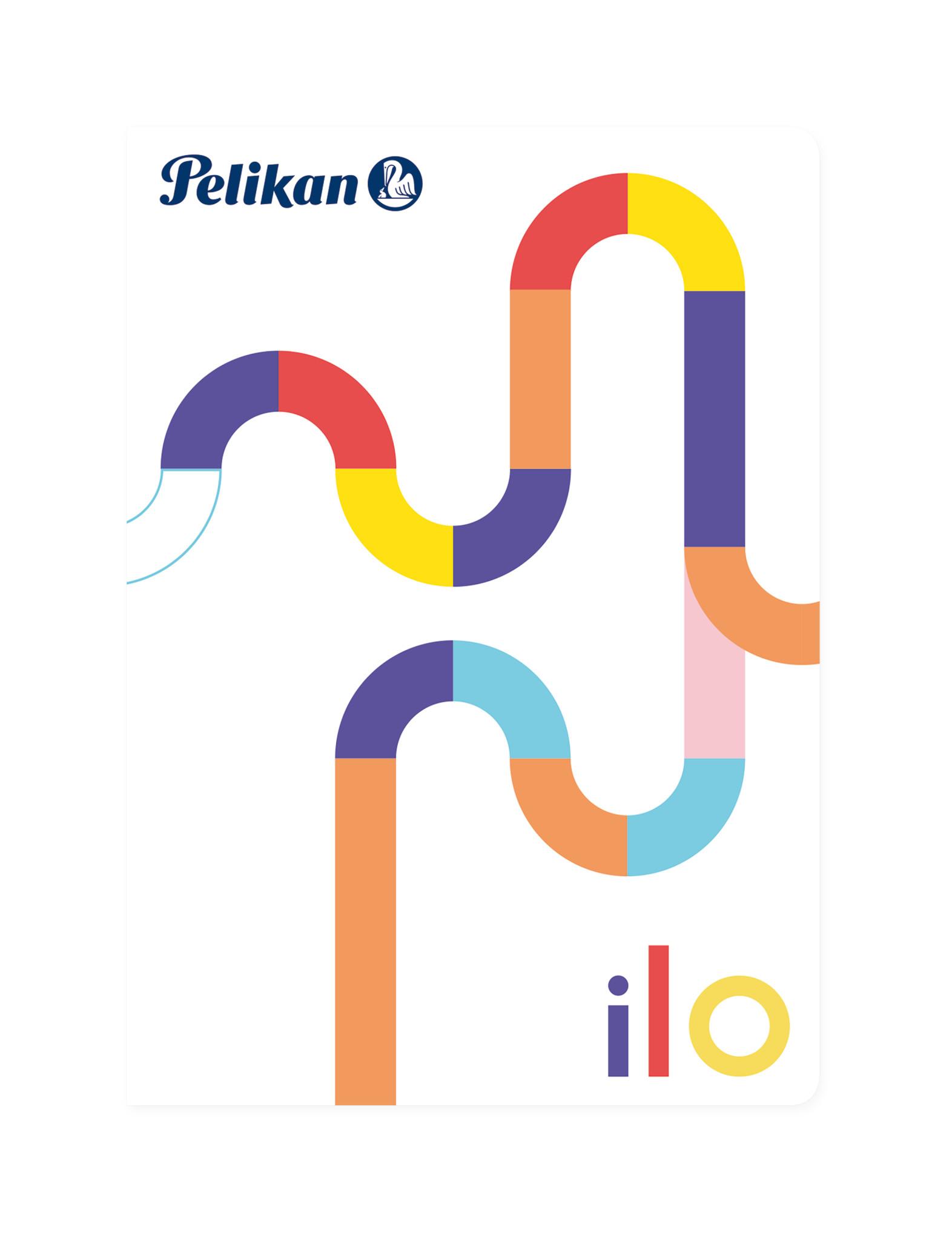 Pelikan ilo - Abbildung - Mehrfarben - A6 - 32 Blätter - Punktgitter-Papier - Universal