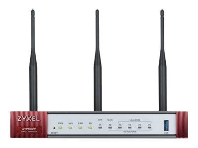 ZyXEL ZyWALL ATP100W - Sicherheitsgerät - mit 1 Jahr Gold Security Pack
