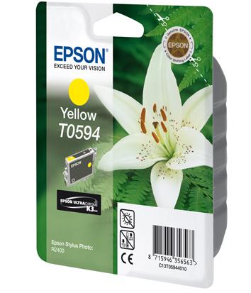 Epson T0594 - Druckerpatrone - 1 x pigmentiertes Gelb