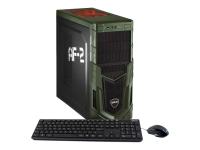 Military Gaming 5681 3.7GHz i7-8700K Schwarz - Grün PC