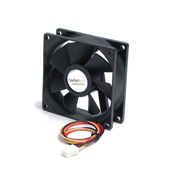 StarTech.com 80mm Gehäuselüfter - Lüfter für PC Gehäuse mit 3-pin Molex Stecker
