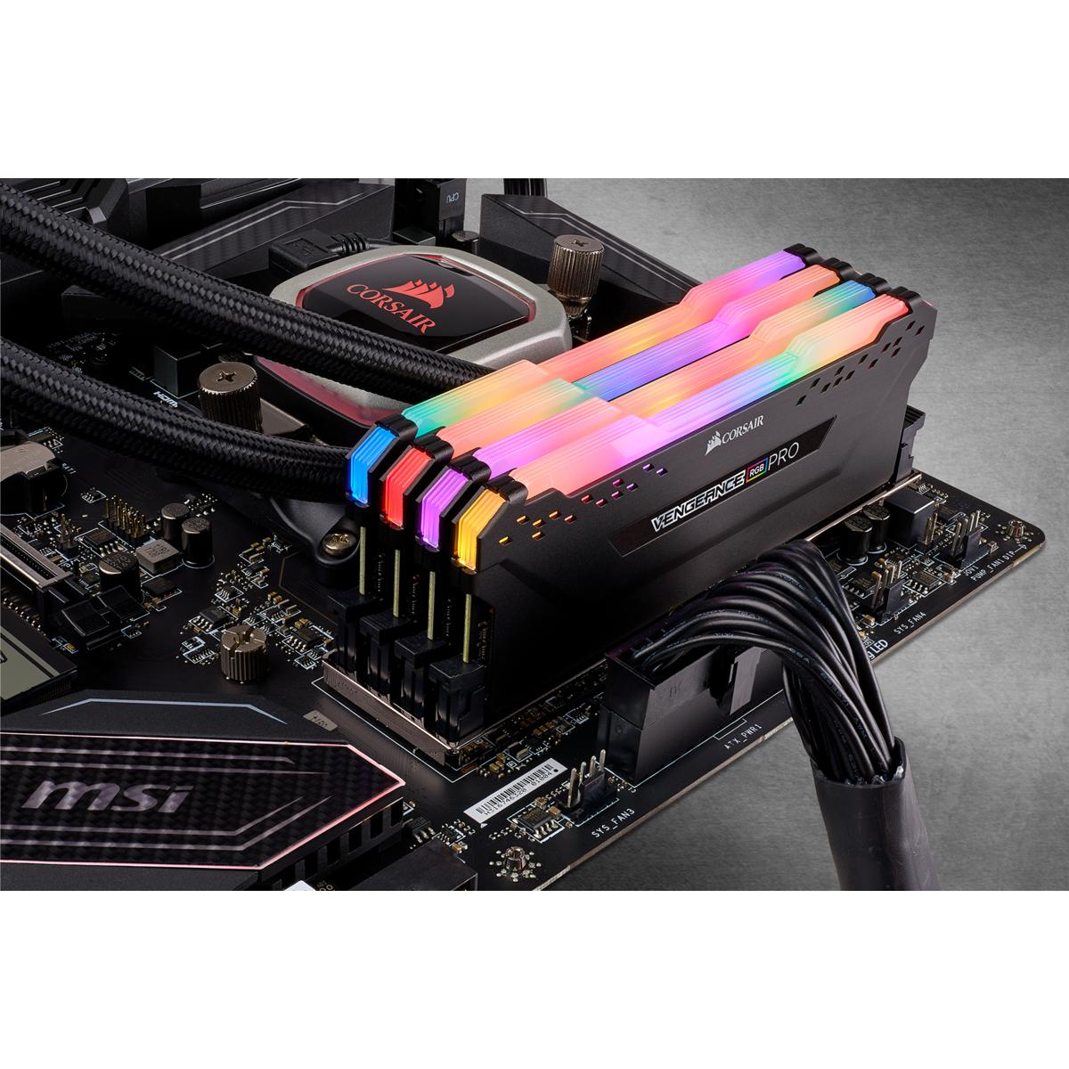 Corsair Vengeance RGB PRO - DDR4 - 128 GB: 4 x 32 GB