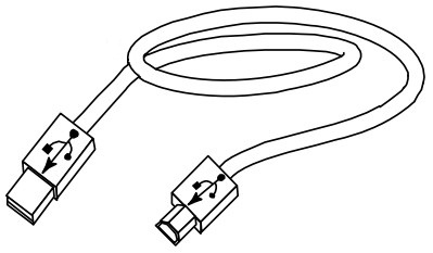 Vorschau: HONEYWELL Datamax - USB-Kabel - USB (M) bis USB Typ B (M)