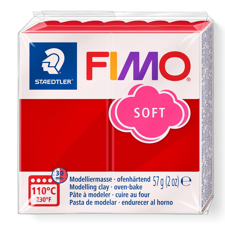 Vorschau: STAEDTLER FIMO 8020 - Knetmasse - Rot - Erwachsene - 1 Stück(e) - Christmas red - 1 Farben