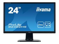 ProLite B2482HS-B1 24Zoll Full HD LED Matt Flach Schwarz Computerbildschirm