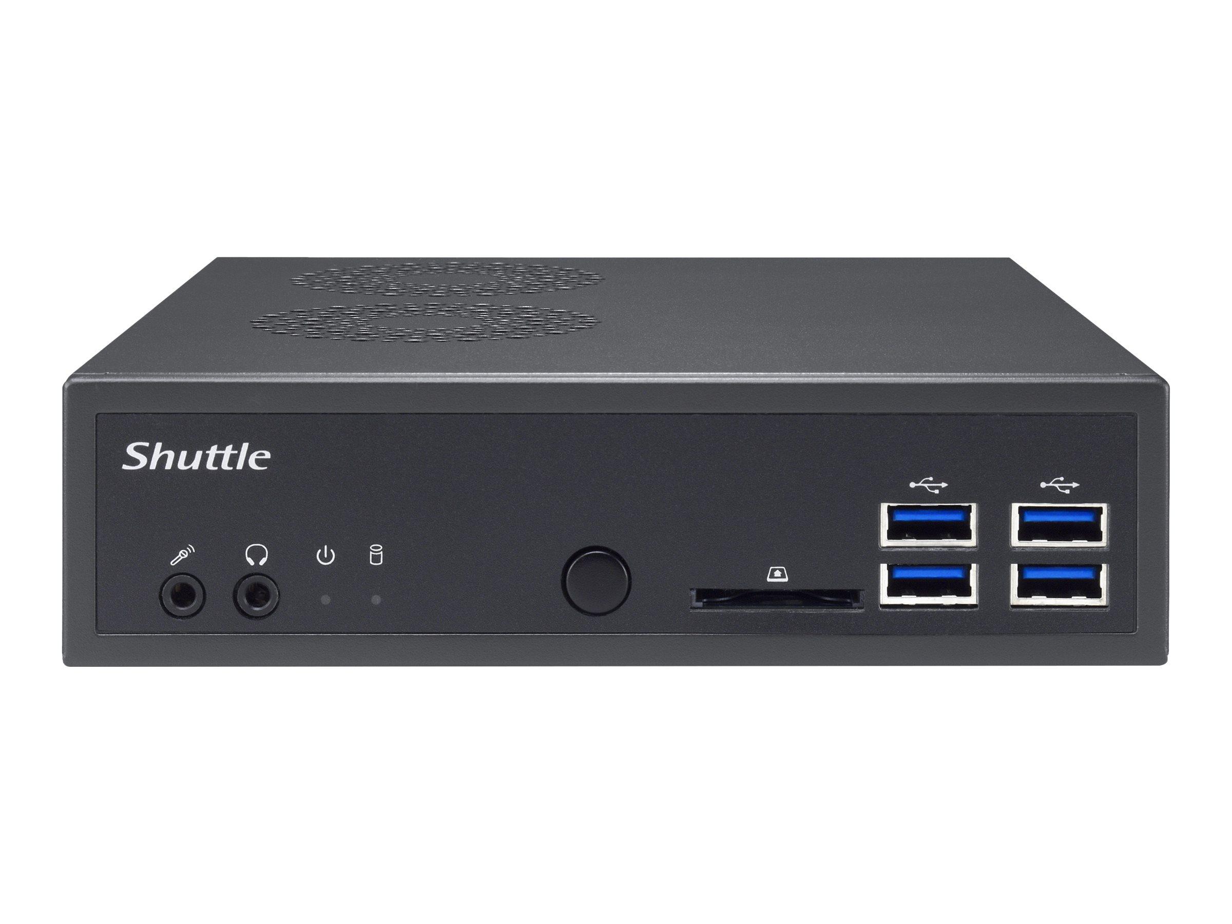 Shuttle XPC slim DA320 - Barebone - Slim-PC - Socket AM4