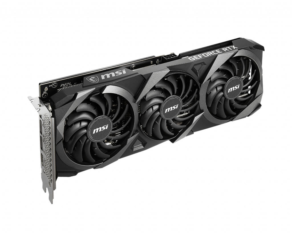 MSI GeForce RTX 3060 VENTUS 3X 12G OC - Grafikkarten