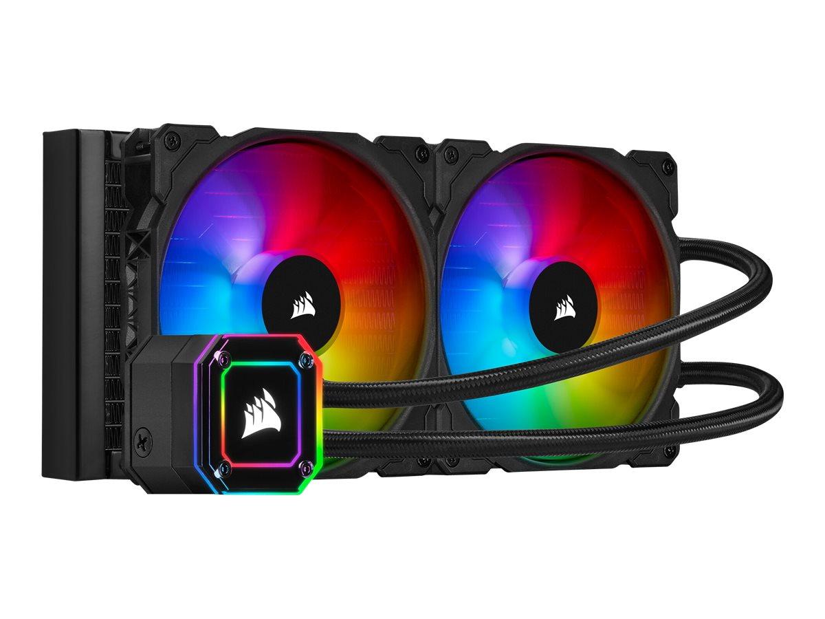 Corsair iCUE H115i Elite Capellix - Prozessor-Flüssigkeitskühlsystem - (für: LGA1156, AM2+, AM3, LGA1155, LGA2011, LGA1150, LGA2011-3, LGA1151, AM4, LGA2066, sTR4, sTRX4, LGA1200)