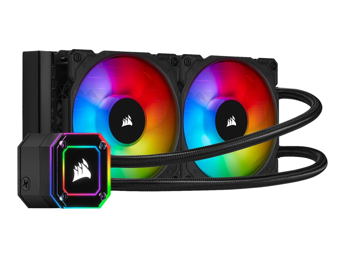 Corsair iCUE H100i Elite Capellix - Prozessor-Flüssigkeitskühlsystem - (für: LGA1156, AM2+, AM3, LGA1155, LGA2011, LGA1150, LGA2011-3, LGA1151, AM4, LGA2066, sTR4, sTRX4, LGA1200)