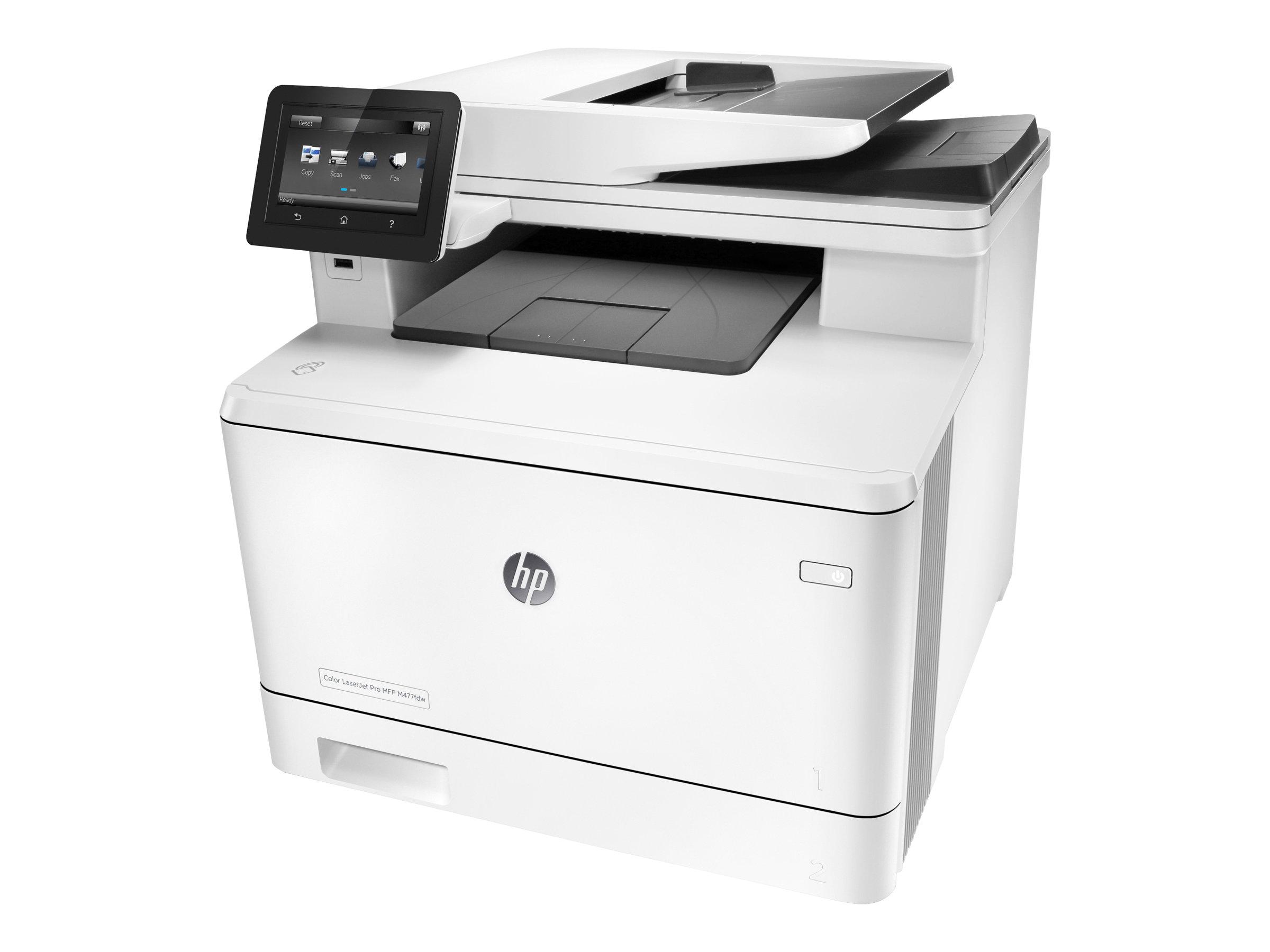 HP Color LaserJet Pro MFP M477fdw - Multifunktionsdrucker - Farbe - Laser - Legal (216 x 356 mm)