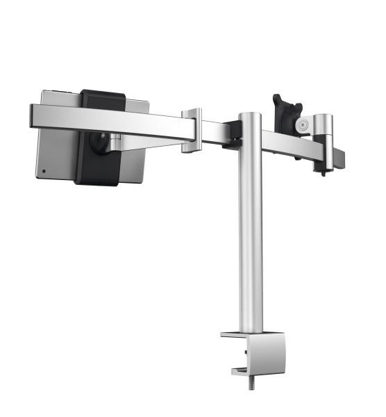 Durable 508723 - Klemme /Bolzen - 8 kg - 53,3 cm (21 Zoll) - 86,4 cm (34 Zoll) - 100 x 100 mm - Silber