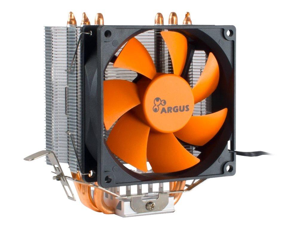Inter-Tech Argus SU-200 - Prozessor-Luftkühler - (für: LGA775, LGA1156, AM2, AM2+, LGA1366, AM3, LGA1155, AM3+, FM1, FM2, LGA1150, LGA1151, AM4, LGA1200)