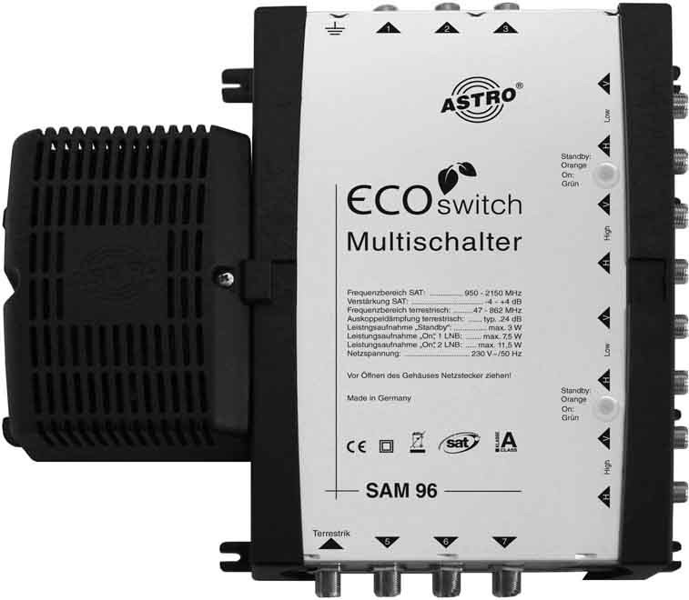 Image of ASTRO SAM 96 Ecoswitch Video-Switch
