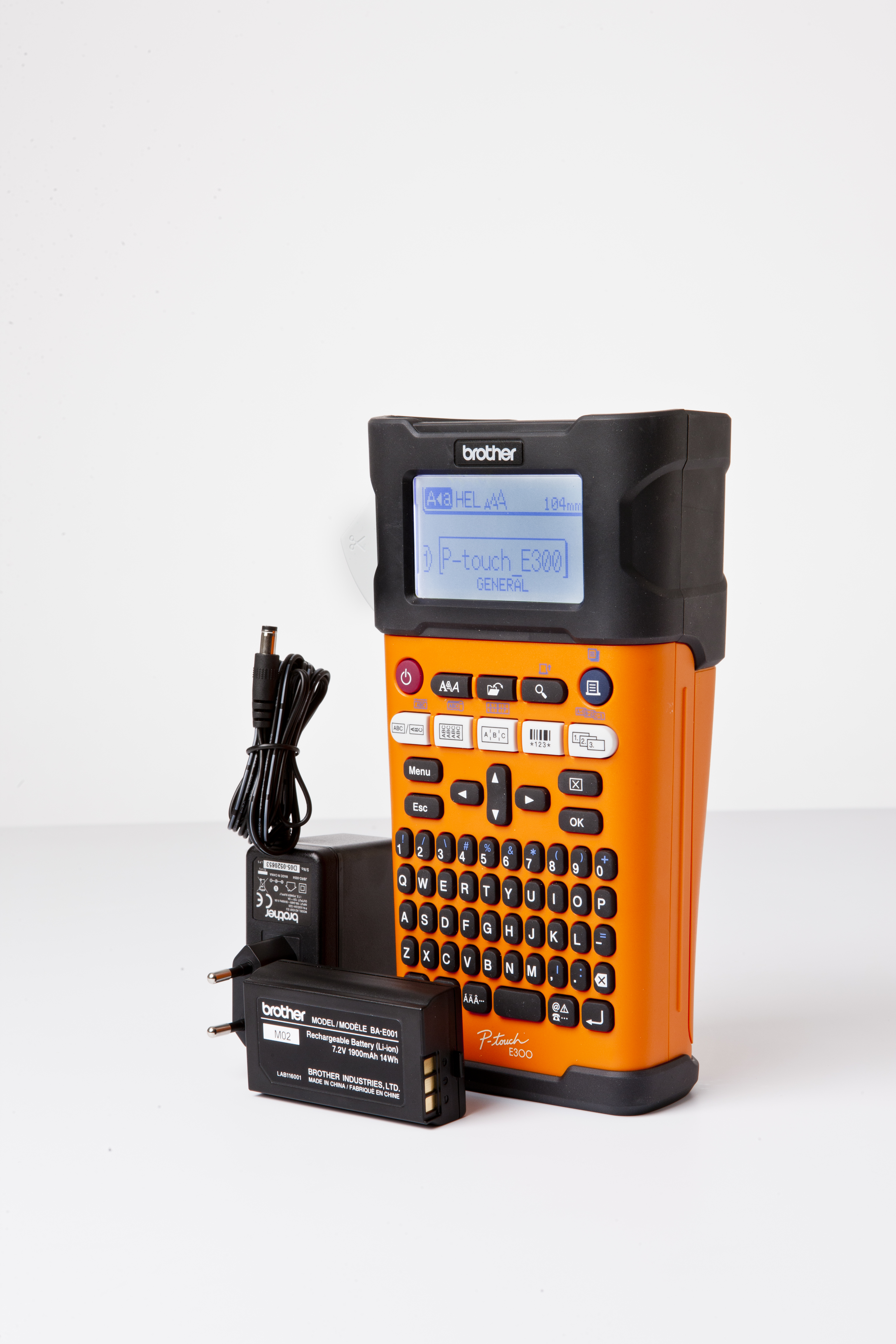 Brother P-touch E300VP Beschriftungsgerät - Etiketten-/Labeldrucker - Thermotransferdruck