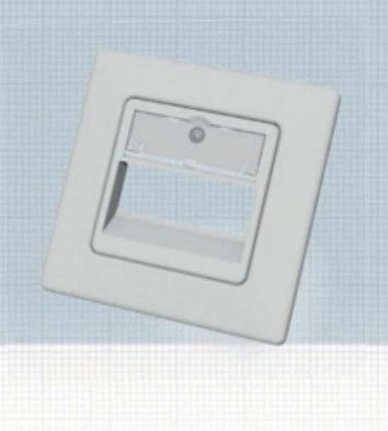 EasyLan CKVDUSL3R - Weiß - Polymer - konventionell - 80 mm - 80 mm