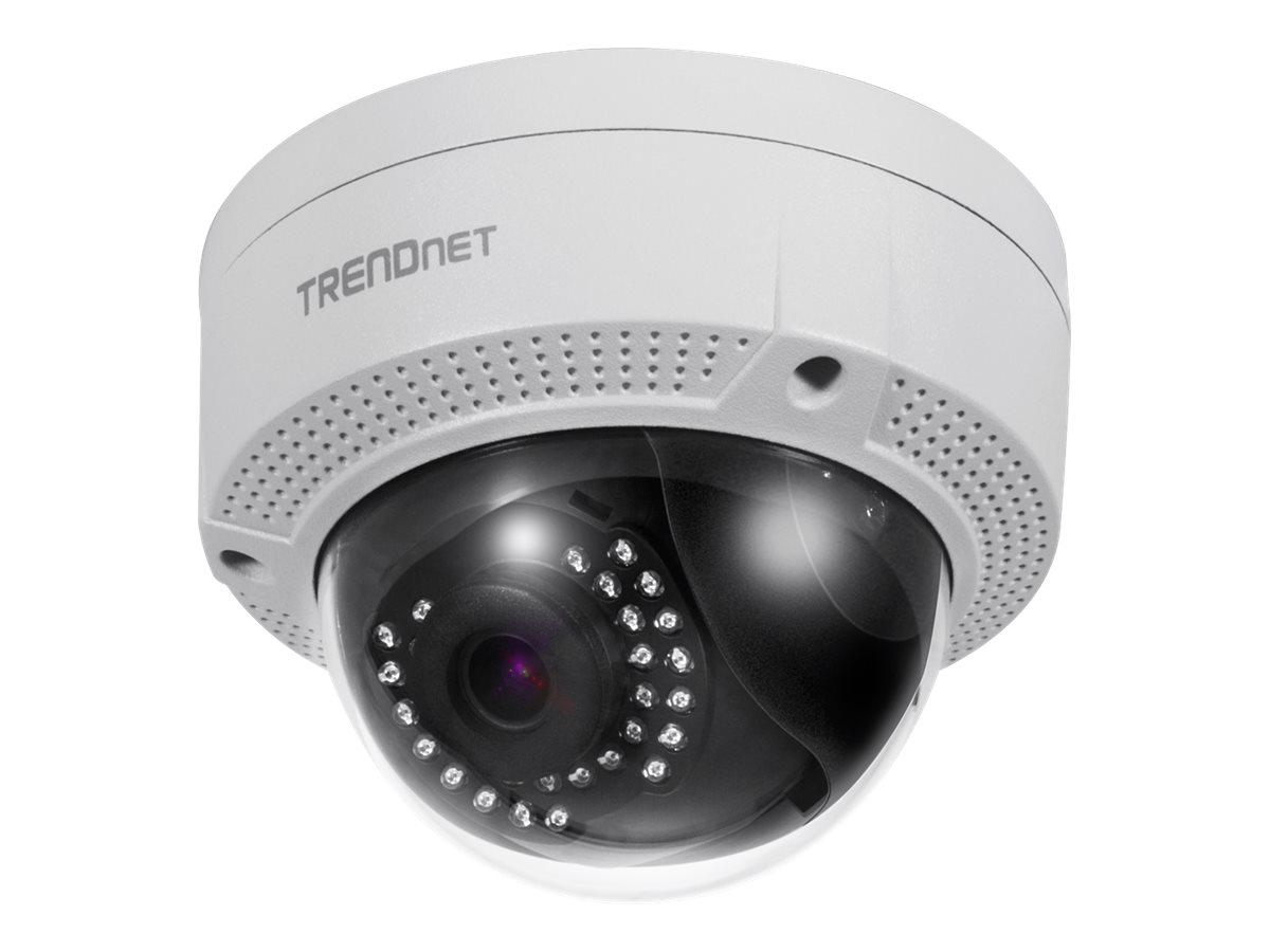 TRENDnet TV IP329PI - Netzwerk-Überwachungskamera - Kuppel - Außenbereich, Innenbereich - wetterfest - Farbe (Tag&Nacht)