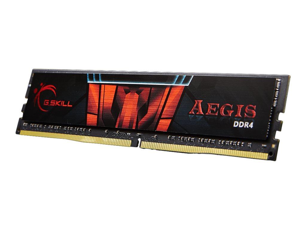 G.Skill AEGIS - DDR4 - 16 GB - DIMM 288-PIN - 3000 MHz / PC4-24000