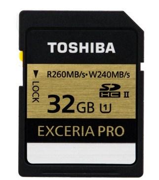 Toshiba SDHC 32GB 32GB SDHC UHS Klasse 10 Speicherkarte