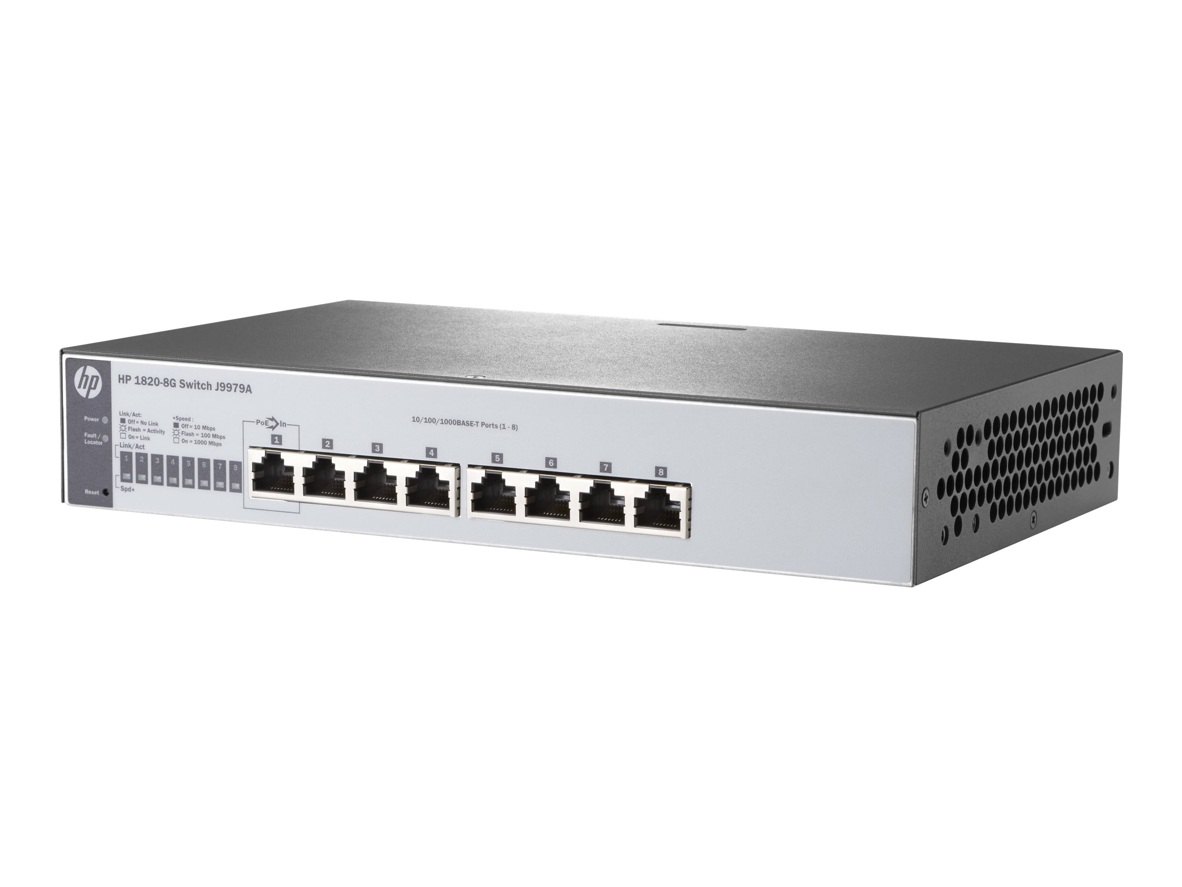 HP Enterprise 1820-8G - Switch - verwaltet