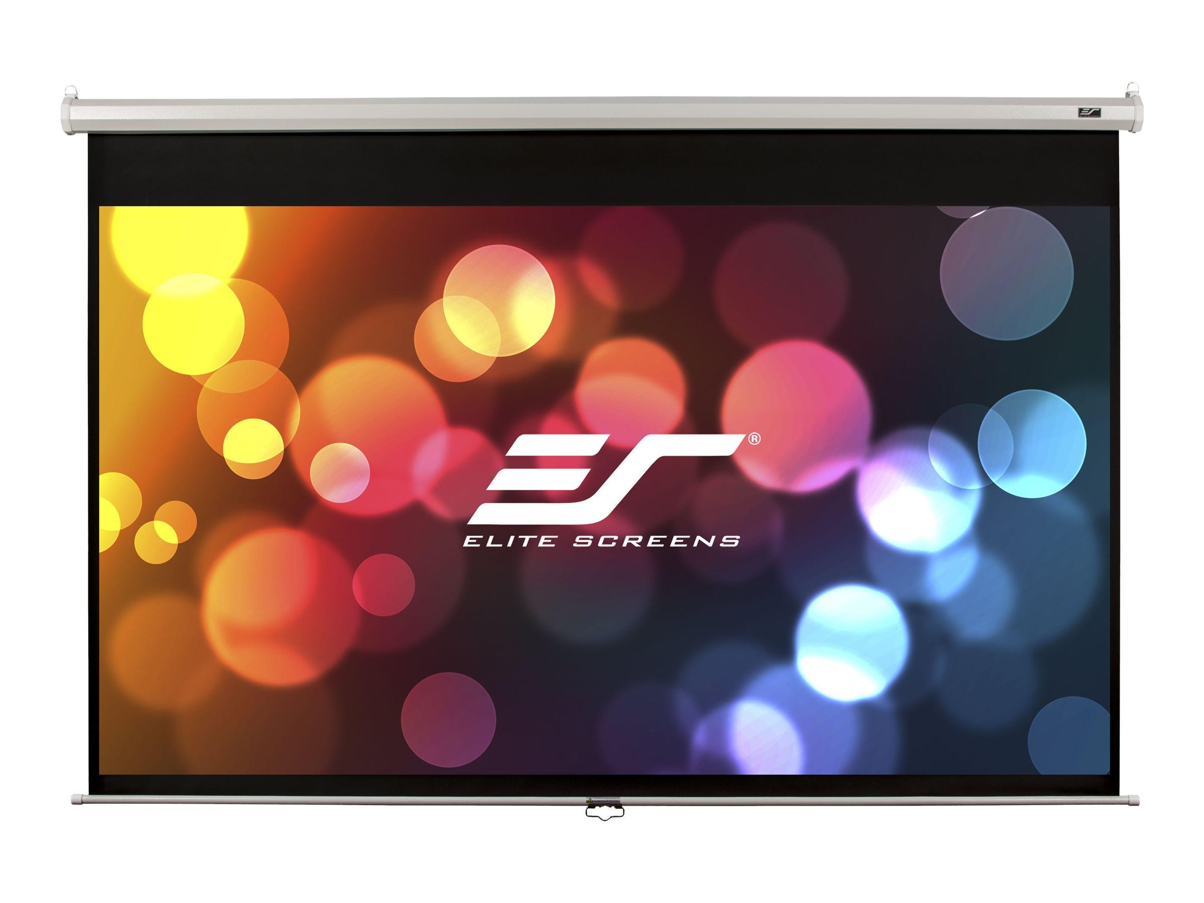 """Elite Screens Manual Series M150XWV1 - Leinwand - Deckenmontage möglich, geeignet für Wandmontage - 381 cm (150"""")"""