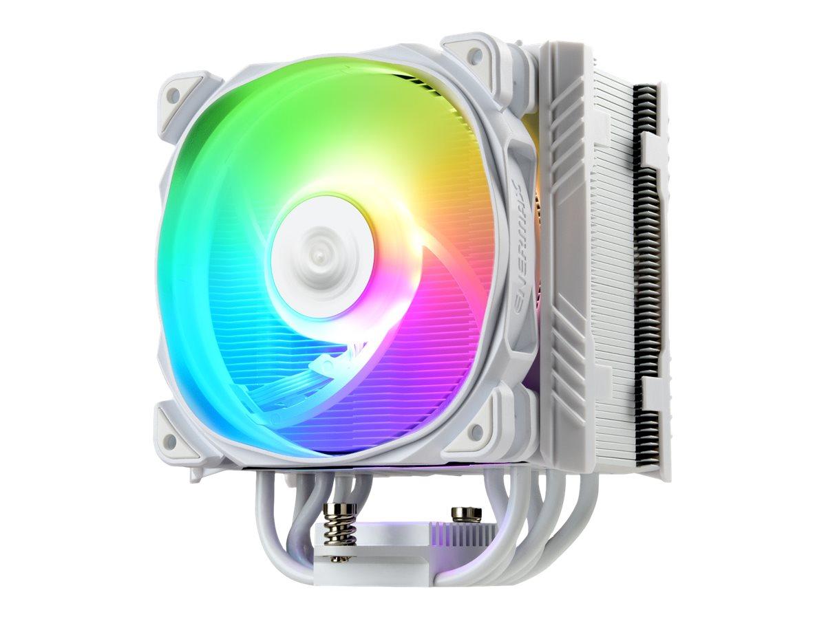 Vorschau: Enermax ETS-T50 AXE ETS-T50A-W-ARGB - White Version - Prozessor-Luftkühler - (für: LGA1156, AM2, AM2+, LGA1366, AM3, LGA1155, AM3+, LGA2011, FM1, FM2, LGA1150, FM2+, LGA2011-3, LGA1151, AM4, LGA2066)