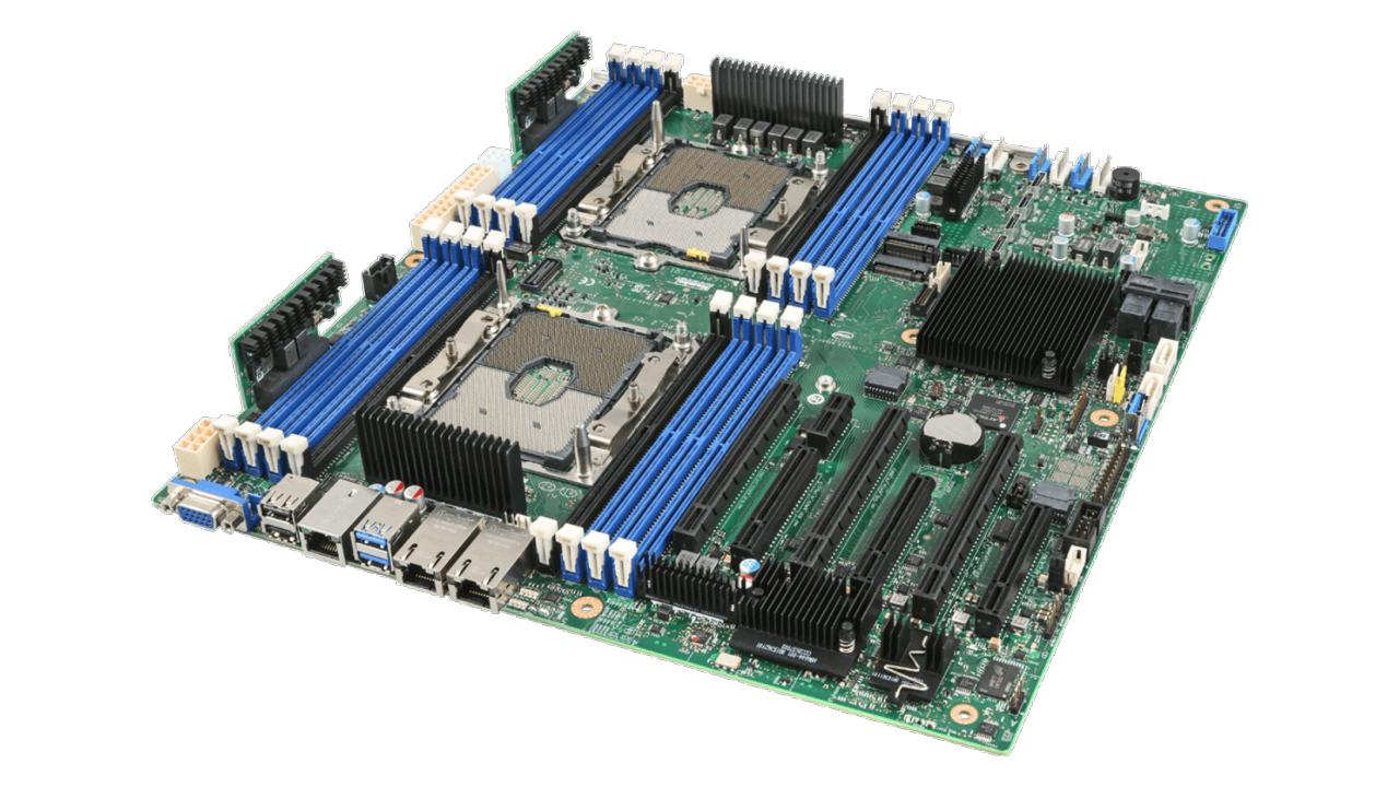 Intel S2600STQ Intel C628 Buchse P SSI EEB Server-/Workstation-Motherboard